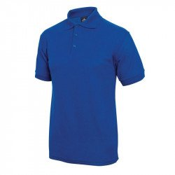 Polo 65% polyester & 35% coton bleu roi M EQUIPEMENT DIRECT Nisbets Vêtements