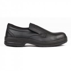 Mocassins imperméables/lavables noirs T.47 LITES SAFETY FOOTWEAR Nisbets Vêtements