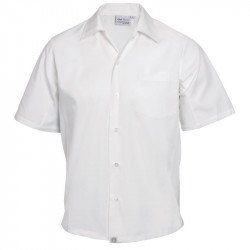 Chemise Chef CoolVent Blanche en Polyester-coton - Taille S CHEF WORKS Nisbets Vêtements