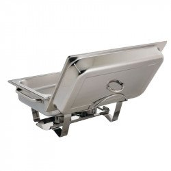 Support Couvercle Inox 18/0 pour Chafing Dish K408 K409 U007 OLYMPIA Chafing Dish