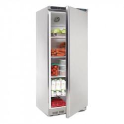 Armoire réfrigérée positive inox Pro - 600 Litres ouverte pleine