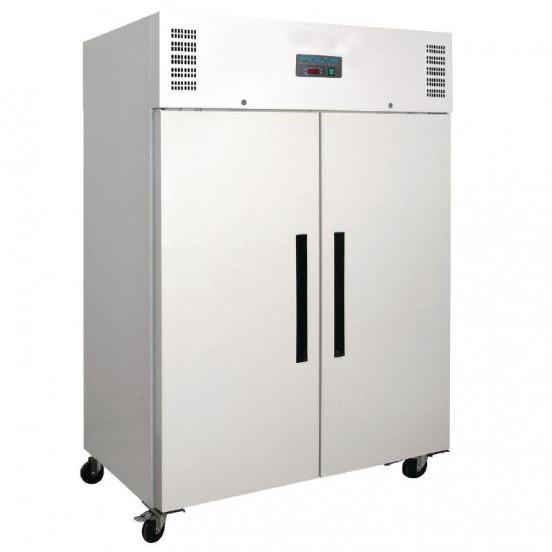 Armoire réfrigérée positive PRO 2 portes 1200 litres blanche