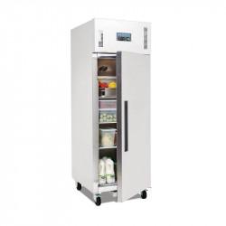 Armoire réfrigérée positive PRO 1 porte inox 600 litres