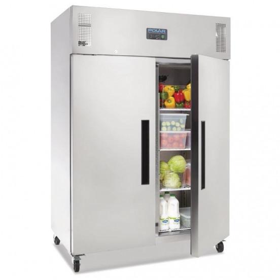 Armoire réfrigérée positive 2 portes inox 1200 litres