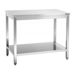 Plan de travail H 850 x P 700 mm - inox Bartscher Tables inox