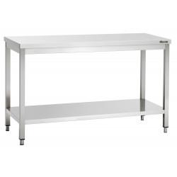 Plan de travail H 850 x P 600 mm - inox Bartscher Tables inox