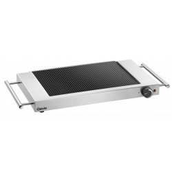 Plaque grille vitro GP1200, rainuré Bartscher Induction