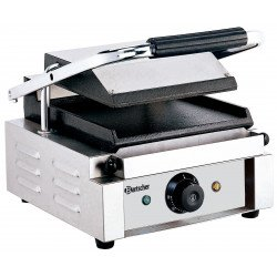 Grill contact, lisse