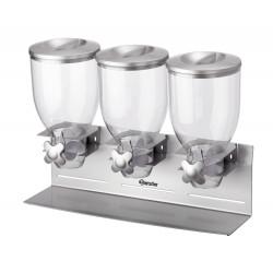 Triple distributeur de céréales Bartscher CREATION ALEX
