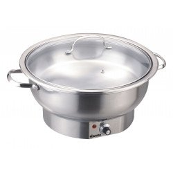 Chafing Dish, EL, rond, 3,8L Bartscher Chafing Dish