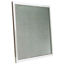 Filtre à mailles en inox L 625 x H 400 x P 12 mm