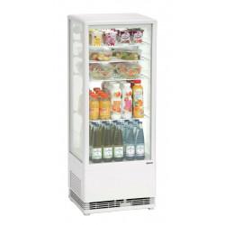 Mini vitrine réfrigérée 98 L Bartscher Vitrines réfrigérées à poser