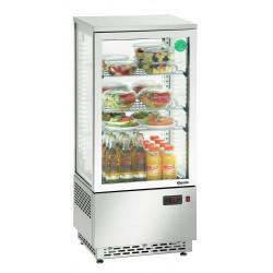 Vitrine réfrigérée Mini 78L, inox A2CH