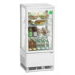 Mini vitrine réfrigérée 78 L, blanche Bartscher Vitrines XL