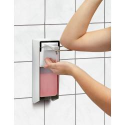 Distributeur 1 L de savon, fixation murale Bartscher Distributeurs de savon