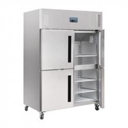 Armoire réfrigérée 1200 Litres positive double 2 portillons GN 2/1 Polar POLAR Armoires positives (+1°C+6°C)