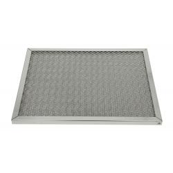 Filtre à mailles en inox L 500 x H 400 x P 20 mm EQUIPEMENT DIRECT Filtres pour hottes