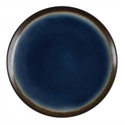 Lot de 4 assiettes à tapas Nomi bleu Ø255mm OLYMPIA Collection Nomi