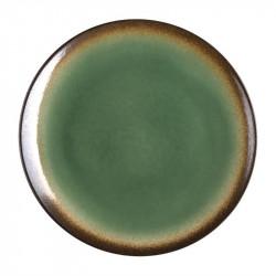 Lot de 4 assiettes à tapas Nomi vert Ø255mm OLYMPIA Collection Nomi