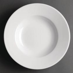 Lot de 6 assiettes à potage Ø228mm Hotelware porcelaine