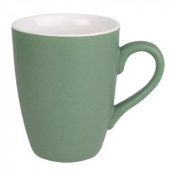 Lot de 6 mugs 320ml vert Brighton porcelaine