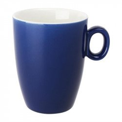 Lot de 6 mugs 320ml bleu Brighton porcelaine