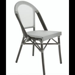 Lot de 2 chaises 'Biarritz' en aluminium