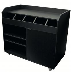 Vaisselier de brasserie bas (H)980mm en bois aggloméré EQUIPEMENT DIRECT Vaisseliers et dessertes