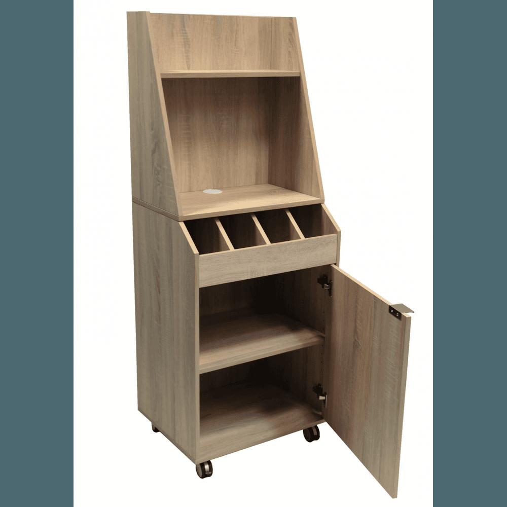 Petit Vaisselier petit vaisselier de brasserie (h)1500mm en bois aggloméré equipemen