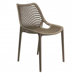 Lot de 2 chaises 'Air' en polypropylène