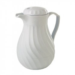 Cafetière isotherme 1,8L Kinox blanche