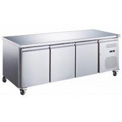 Table 580L positive 3 portes inox