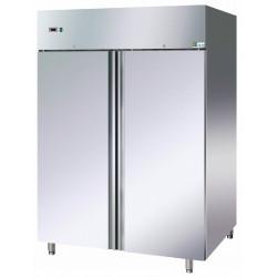 Armoire 1340L positive 2 portes pleines Inox AISI 304 AFI Collin Lucy Armoires positives (+1°C+6°C)