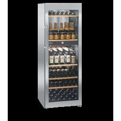 Cave à vins 155 bouteilles - 2 zones + 2 casiers - Liebherr
