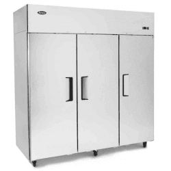 Armoire positive 1390 Litres 3 portes inox GN2/1