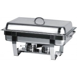 Chafing Dish avec Couvercle et Pieds en Inox GN1/1 Atosa Catering Equipement Chafing Dish