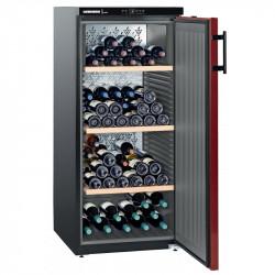Cave à vins 164 bouteilles - 1 zone mono-température & porte pleine - Liebherr