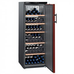 Cave à vins 200 bouteilles - 1 zone mono-température & porte pleine - Liebherr