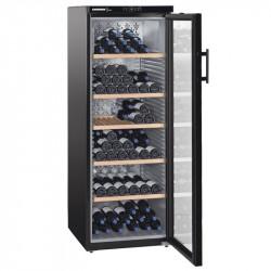 Cave à vins 200 bouteilles - 1 zone mono-température & porte vitrée - Liebherr