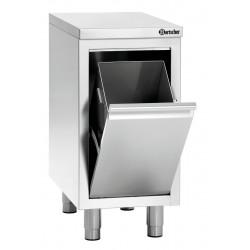 Range-poubelle (H) 850/900 mm - inox Bartscher Bartscher prêt