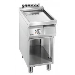 Plaque grill lisse L 400 x P 700 mm - inox Bartscher Planchas