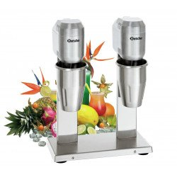 Mixeur de bar double 2 x 700 ml - inox Bartscher Mixers de bar