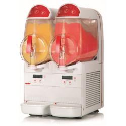 Distributeur 10 L de frappés / granités - 2 cuves Ugolini Machines à granité