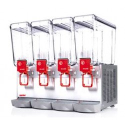 Distributeur 12 L de boissons froides - 4 cuves