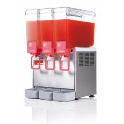 Distributeur 3 cuves de boissons froides - 8 Litres