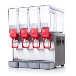 Distributeur 4 cuves de boissons froides - 8 Litres