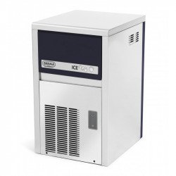 Machine à glaçons 21 Kg / 24h + programme - inox