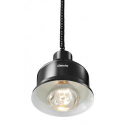 Lampe chauffante 250 W pendulaire - Noir mat Bartscher New produits - BARTSCHER