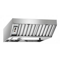 Hotte 370 W à condensation - 2 filtres - inox - A fixer Bartscher Hottes