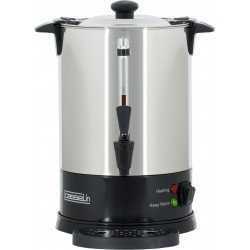Percolateur à café - 6.8 L - 48 tasses - paroi simple - inox